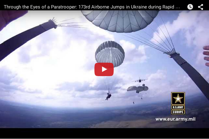 Through the Eyes of a Paratrooper