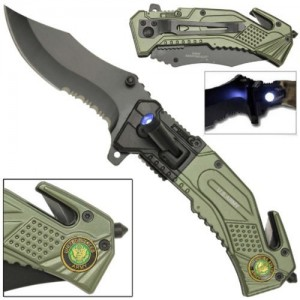 US-ARMY-KNIFE-with-LED-LIGHT-ATTACHED-FREE-ARMY-VETERAN-CAP-HAT-0