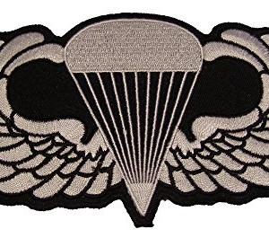 US-MILITARY-BASIC-PARATROOPER-JUMP-WINGS-LARGE-PATCH-Color-Veteran-Owned-Business-0