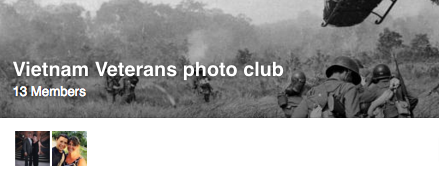 Join our new Vietnam Veterans Photo Club on Facebook