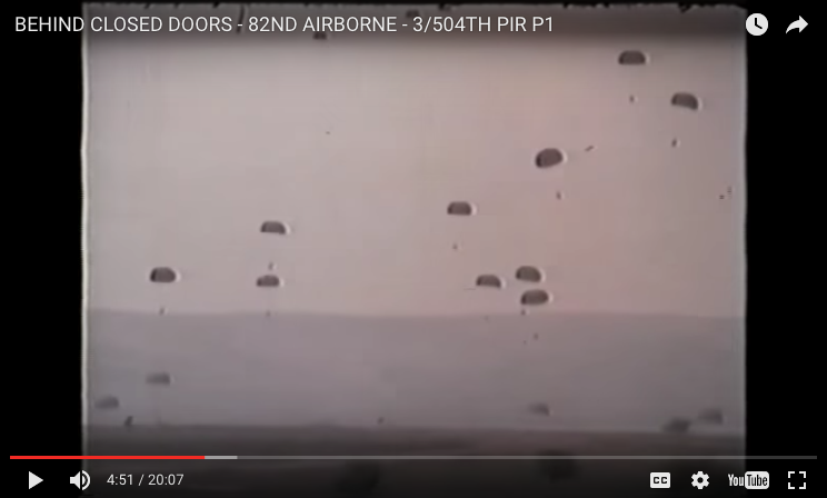 [VIDEO] Behind Closed Doors of the 82ND AIRBORNE with Joan Lunden Part 1