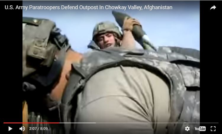 [VIDEO] U.S. Army Paratroopers Defend Outpost In Chowkay Valley, Afghanistan