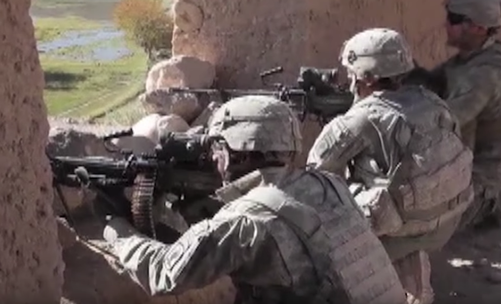 US Paratroopers in Afghanistan – Firefights with Taliban