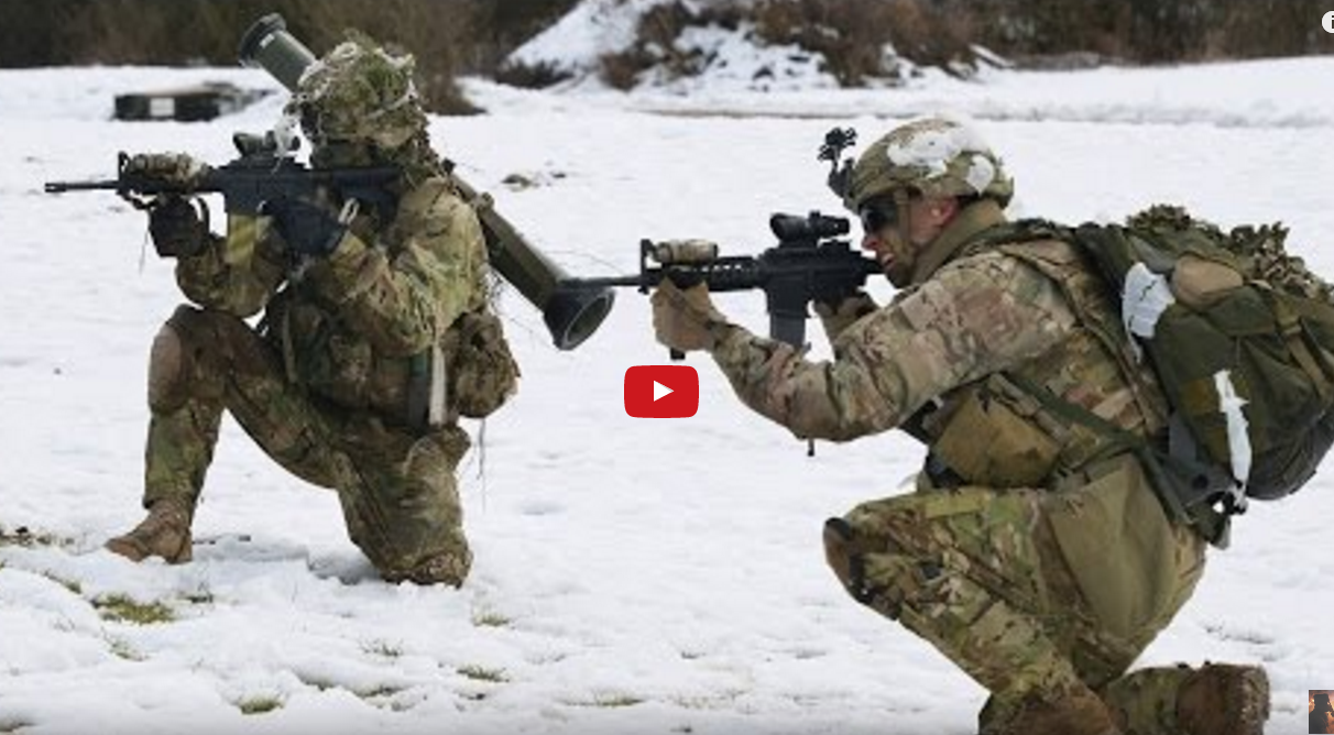 Heavy Combat Live Fire Training – 173rd Airborne Brigade