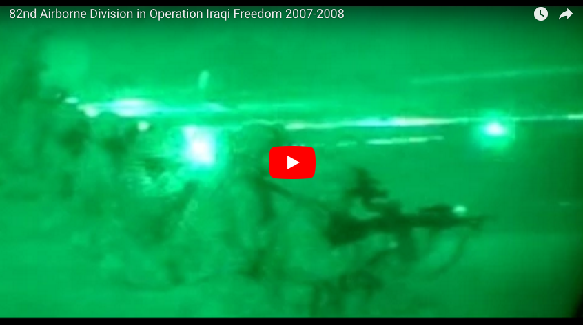 [VIDEO] 82nd Airborne in western Iraq – Operation Iraqi Freedom '07