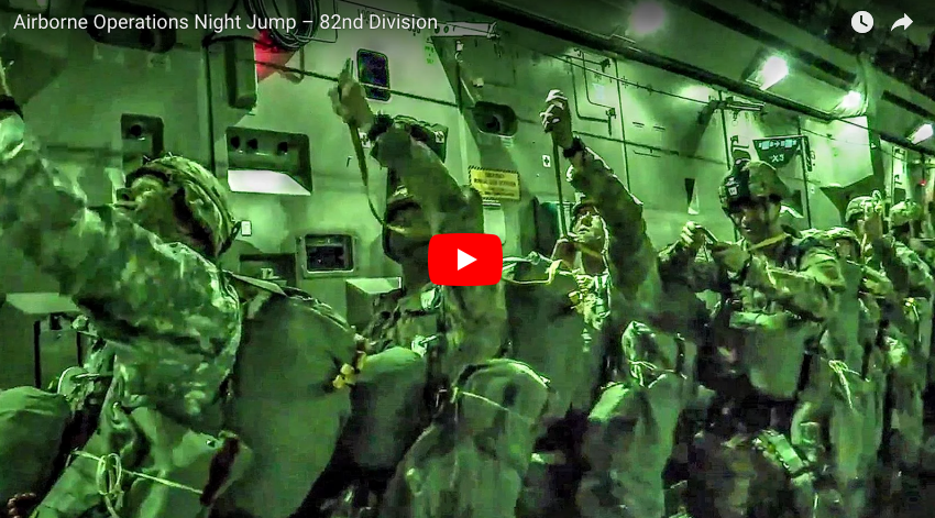 [VIDEO] Airborne Night Jump 82nd Division