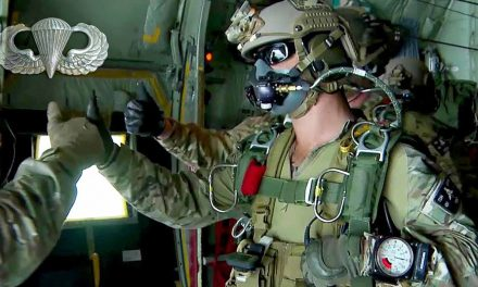 Airborne: 7th Special Forces Green Berets High-Altitude Jump