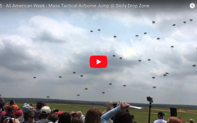 [VIDEO] Mass Tactical Airborne Jump @ Sicily Drop Zone