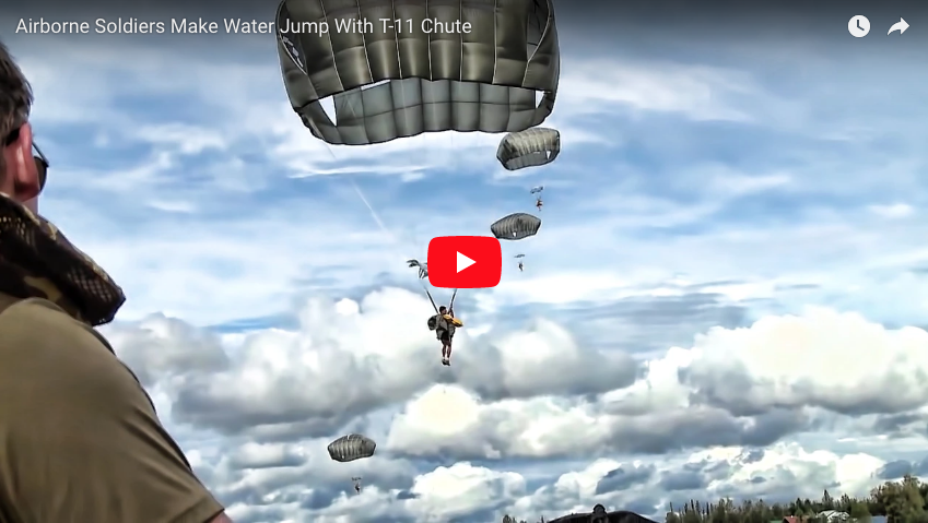 [VIDEO] Water Jump With T-11 Chute