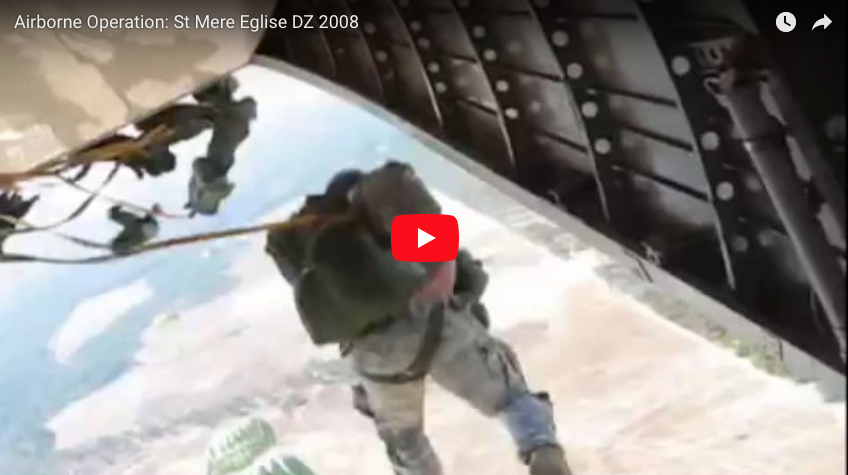 "[VIDEO] St Mere Eglise DZ ""Hollywood"" Jump"