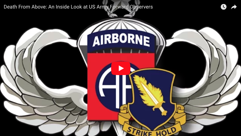 [VIDEO] An Inside Look at Forward Observers of the 82nd