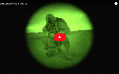 [VIDEO] Paratroopers Night Jump into Holland DZ