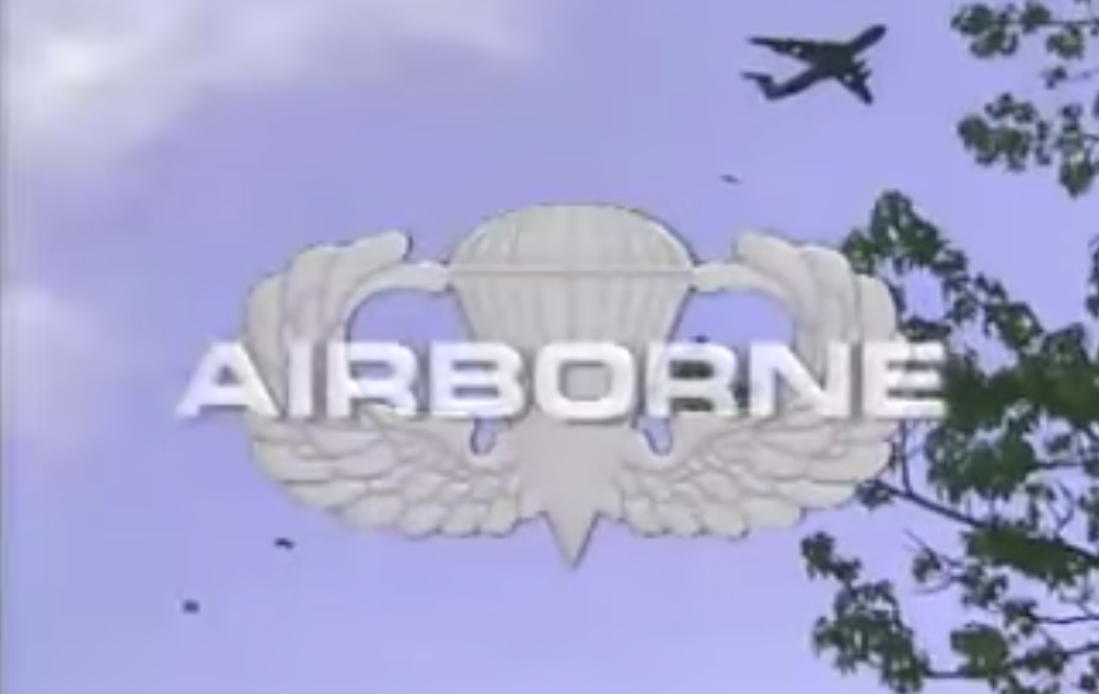 [VIDEO] U.S. Army Airborne School – 90s Recruiting Video