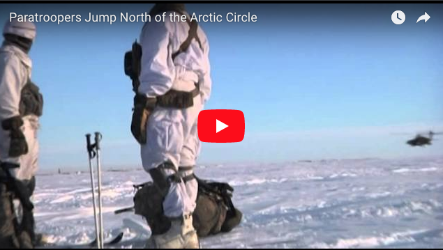 [VIDEO] Paratroopers Jump North of the Arctic Circle