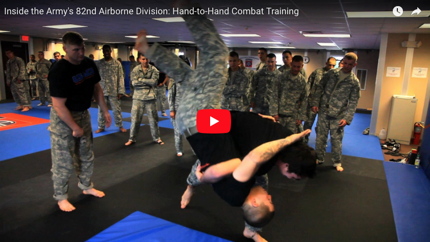 [VIDEO] 82nd Airborne Division: Hand-to-Hand Combat Training