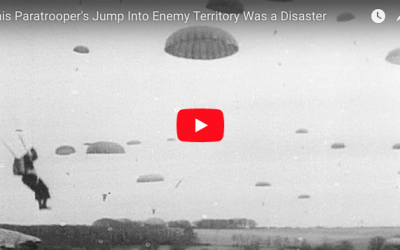 [VIDEO] This Paratrooper's Problematic Jump Into Enemy Territory