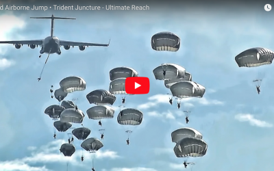 [VIDEO] 82nd Airborne Trident Juncture NATO Jump