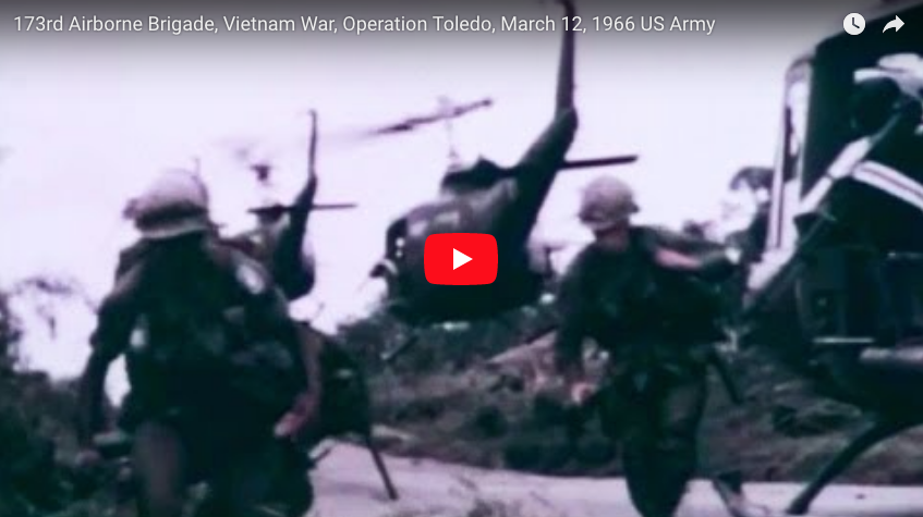 173rd Airborne Brigade in Vietnam – Operation Toledo