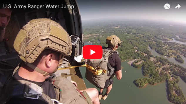 US Army Ranger Water Jump