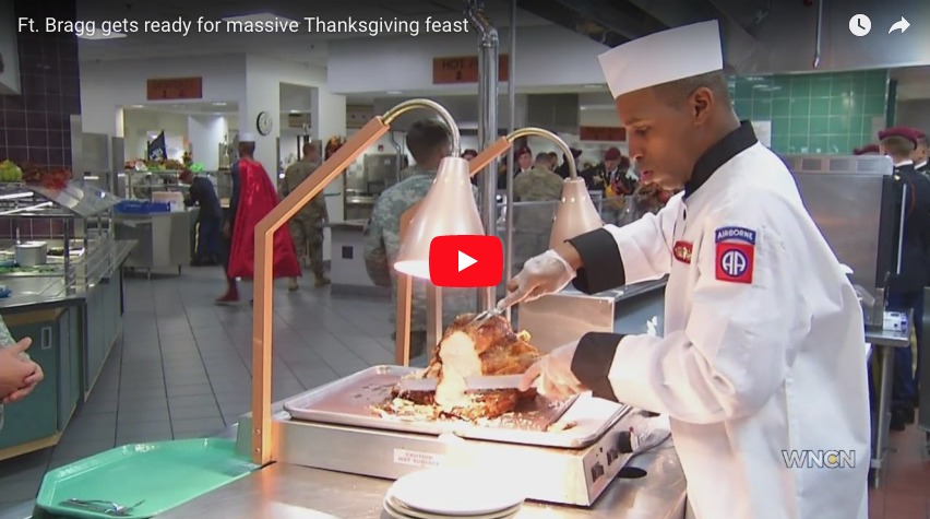 Ft. Bragg gets ready for massive Thanksgiving feast