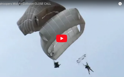 Paratroopers Mid-Air Collision