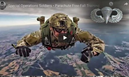 US Special Operations Command Europe Freefall Training