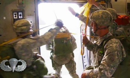 Airborne Paratroopers Jumping & Cargo Drop from C-17 – Multiple Camera Video