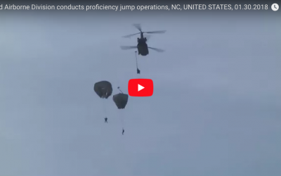 82nd Airborne Division Proficiency Jump NC, 1/30/18