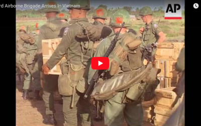 173rd Airborne Brigade Arrives In Vietnam (5 May 1965)