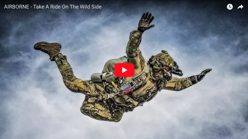 AIRBORNE – Take A Ride On The Wild Side