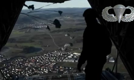 US Special Forces Training Jump from Hercules C-130