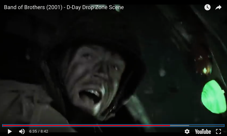Band of Brothers (2001) – D-Day Drop Zone Scene