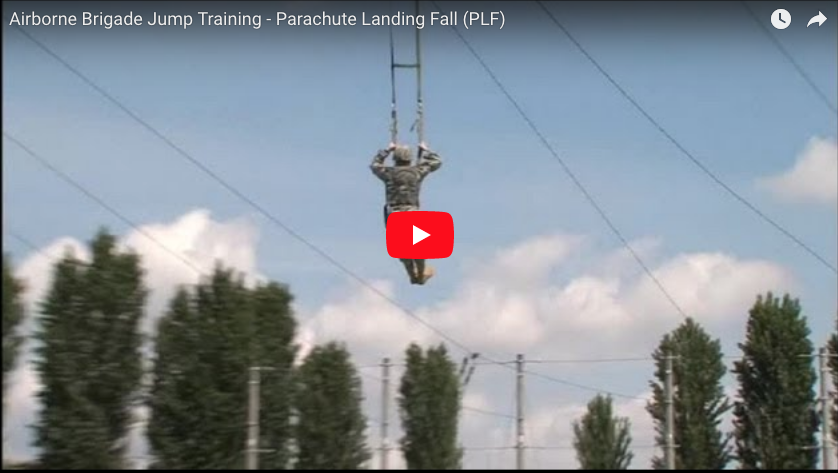 173rd Jump Training – Parachute Landing Fall (PLF)