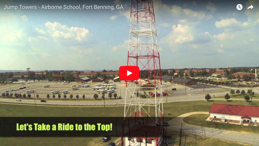 Jump Towers – Airborne School, Fort Benning, GA