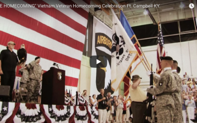 """Long Overdue: """"THE HOMECOMING"""" Vietnam Veteran Homecoming Celebration Ft. Campbell KY."""