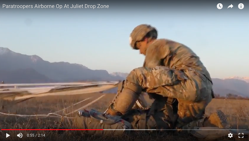 Airborne Op At Juliet Drop Zone