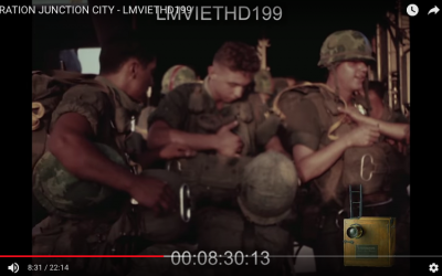 Operation Junction City – Only Airborne Combat Jump of Vietnam REAL FOOTAGE