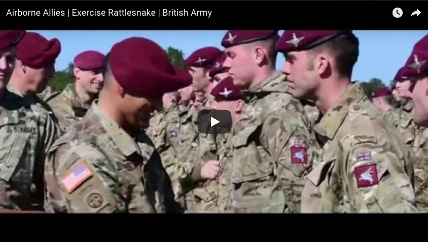 82nd with Airborne Allies | Exercise Rattlesnake | British Army