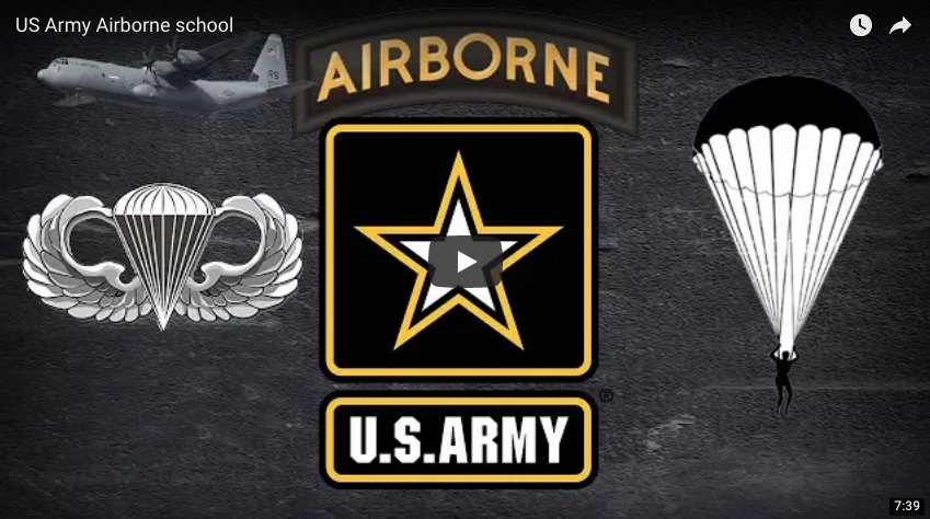 10 Year Army Vet Talks/Shows US Army Airborne school