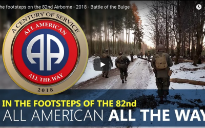 In the footsteps on the 82nd Airborne – 2018 – Battle of the Bulge