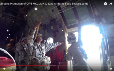 82nd Airborne Food Services Jump