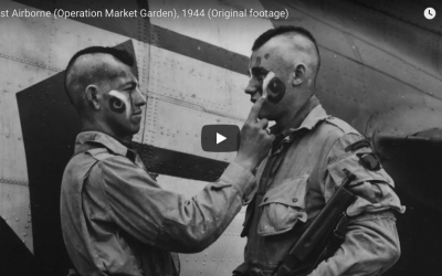 101st Airborne Operation Market Garden – Real Footage