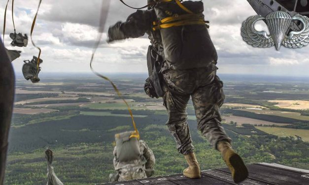 Airborne! Chinook Helicopter Jump