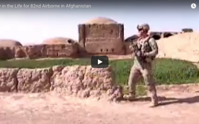 Day in the Life of the 82nd Airborne in Afghanistan