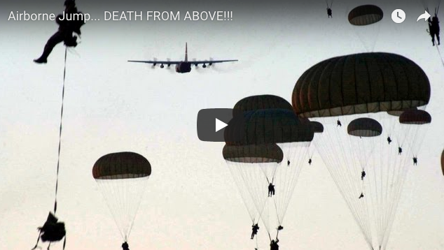 Airborne Jump – DEATH FROM ABOVE!