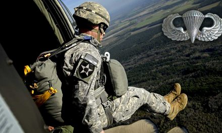 Paratroopers Jumping Out Of A Perfectly Good Helicopter