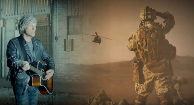 "Bon Jovi: ""Unbroken"" – A Tribute Veterans and Service Dogs"