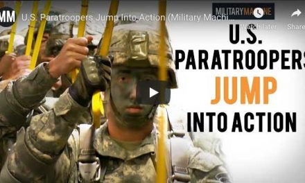 U.S. Paratroopers Jump Into Action