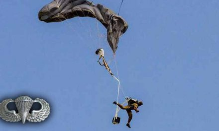 Paratrooper's Reserve Opens with Less than 20 Feet Until Impact