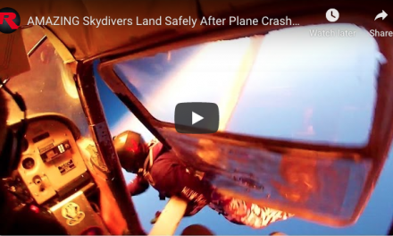 AMAZING Skydivers Land Safely After Plane Crash